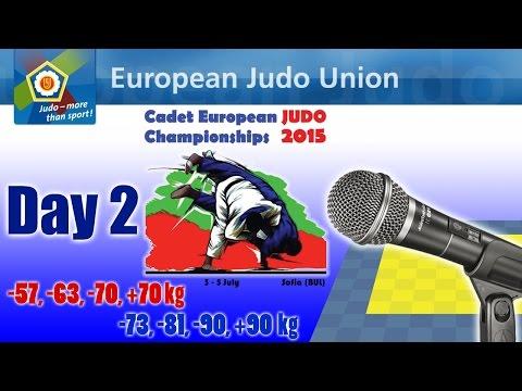Cadet European Judo Championship - Sofia 2015 - Day 2