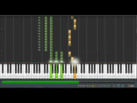 Gravity Falls - Made Me Realize on Synthesia - Pia