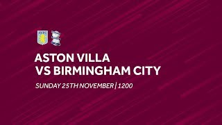 Aston Villa 4-2 Birmingham City: Extended highlights