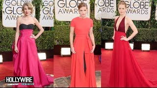 Taylor Swift vs. Emma Watson vs. Amy Adams: Best Golden Globes Dress?!