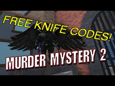 FREE KNIFE CODES FOR MURDER MYSTERY 2 | ROBLOX