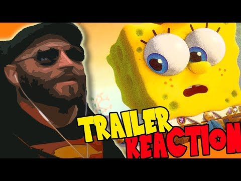 The SpongeBob Movie: Sponge On The Run (2020) Trailer REACTION