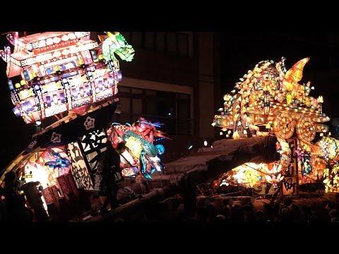 富山の祭 砺波夜高祭(突き合わせ 其の一)2019/06/15