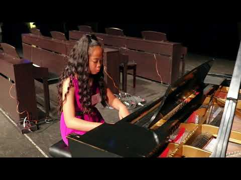 Rondo (piano solo) 13-year-old Kathleen performs at NCM Music Festival 2018
