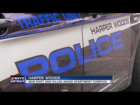 Man shot, killed in apartment complex in Harper Woods