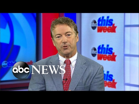 Sen. Rand Paul on health care bill: 'We never ran on a replacement of Obamacare Lite'
