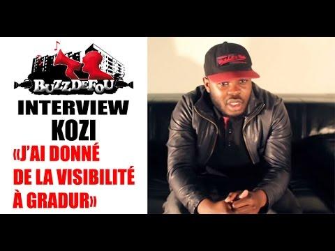 """KOZI """"J'AI ÉTÉ LE 1ER À DONNER DE LA VISIBILITÉ À GRADUR"""" !"""