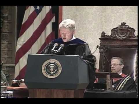 Princeton University 1996 Commencement featuring President Bill Clinton