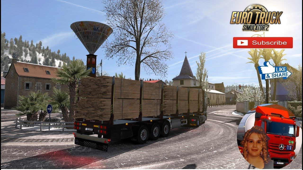 Euro Truck Simulator 2 (1 34) Trailers and Cargo Pack by Jazzycat v 7 5 +  DLC's & Mods