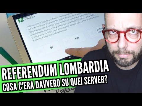 Referendum Lombardia: cosa c'era in quei server?