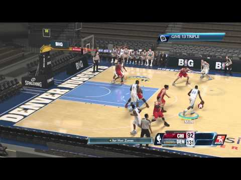 Nba 2K14 Ps4 Denver Nuggets *How to Play* Brian Shaw Playbook