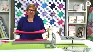 How to Cut Strips with AccuQuilt GO! Strip Cutter Dies
