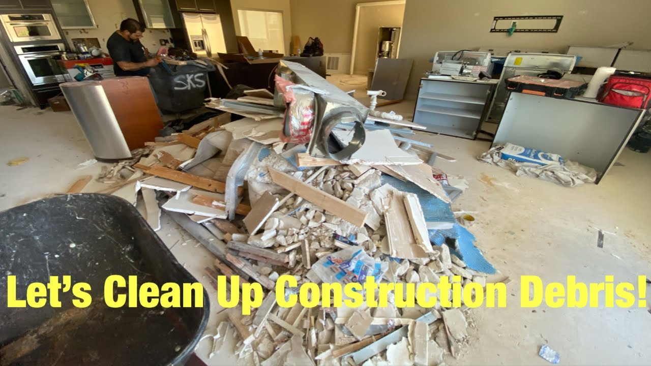 Let's Clean Up Construction Debris on the 2nd Floor❗️ (Time lapse) Las Vegas is OPEN❗️