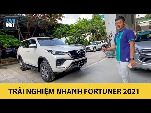 Trải nghiệm nhanh Toyota Fortuner 2021 vừa về đại lý |Autodaily.vn|
