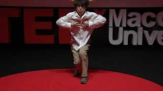 Incredible break dancer: BBoy Blond at TEDxMacquarieUniversity
