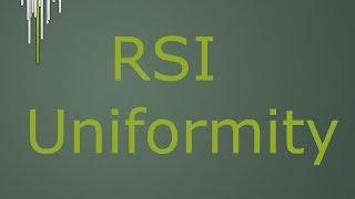 RSI Divergence 2.0 & Uniformity Part 6