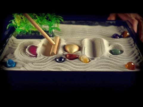 ASMR Zzzzzen garden (oddly satisfying)