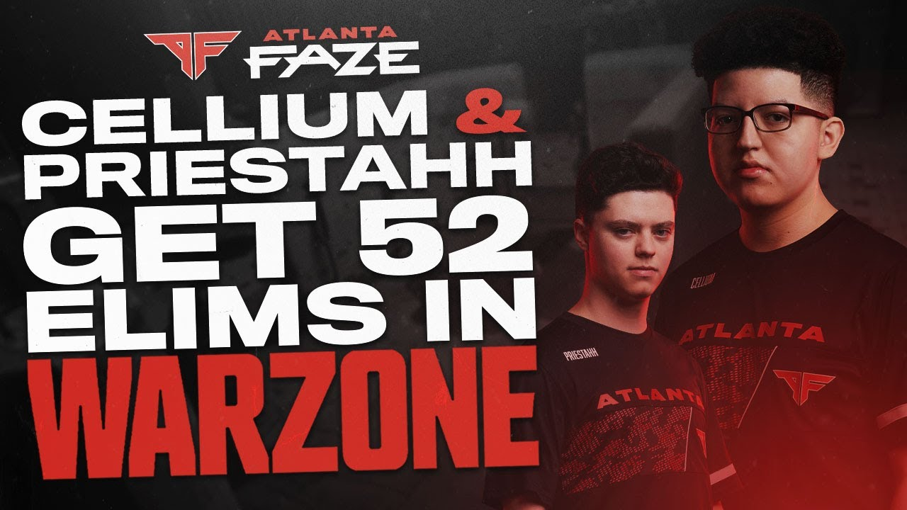 NOBODY CAN BEAT FAZE CELLIUM AND PRIESTAHH IN COD WARZONE DUOS