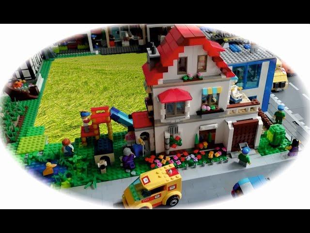 Bau einer Legostadt (Teil 20) das Wohngebiet 1.
