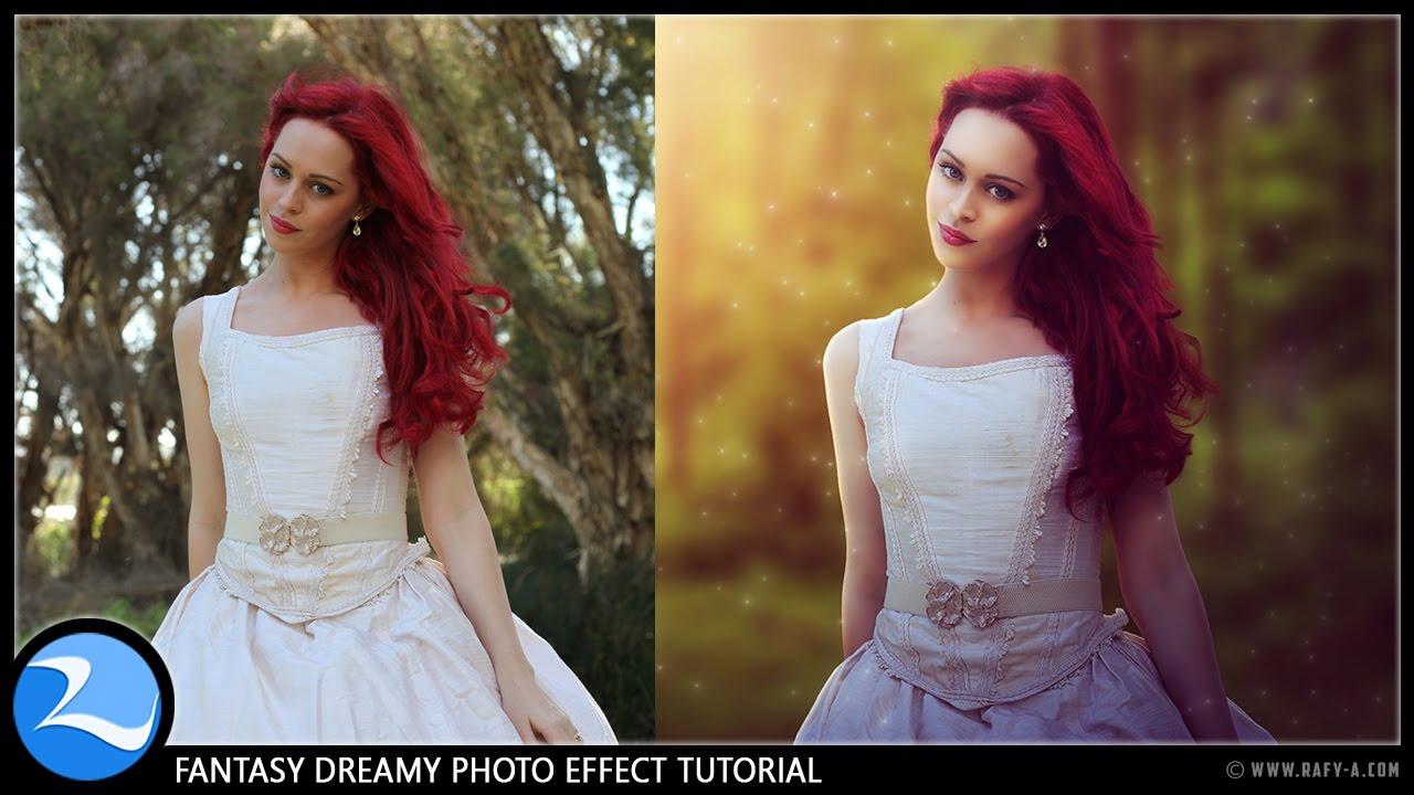 Photoshop Tutorial : Fantasy Dreamy Photo Effects Editing ...