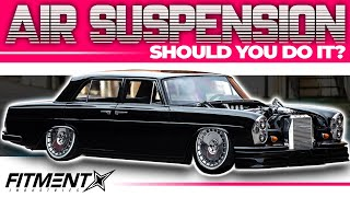 5 Reasons Why You Should Run Air Suspension