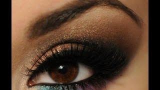Как красива красить глаза в арабском стиле(Как красива красить глаза в арабском стиле. Давайте рассмотрим арабский макияж Жади. Безусловно, этот макия..., 2014-11-04T11:24:33.000Z)