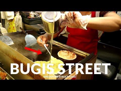 BUGIS STREET, SINGAPORE STREET FOOD | JAJANAN MURAH UNTUK TURIS #185