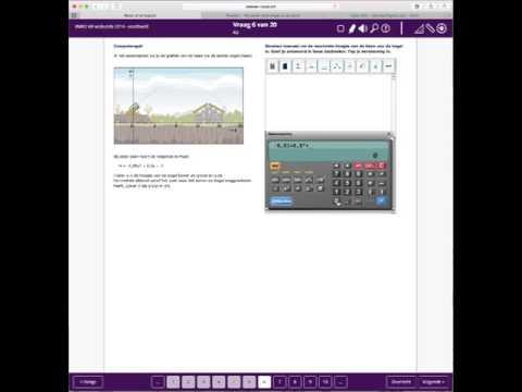 Digi-examen wiskunde KB 2014 h1 - Computerspel 2/6