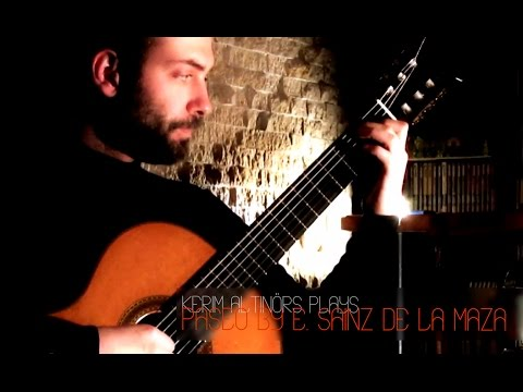 Eduardo Sainz de la Maza - Paseo (from suite 'Platero y Yo') Played by Kerim Altınörs