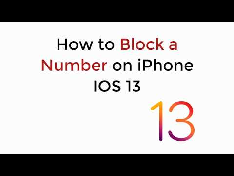 Follow our video guide on how to block No Caller ID Calls on iPhone 7, 7 Plus, 8, X, 6S, 6, SE, 6 Pl.