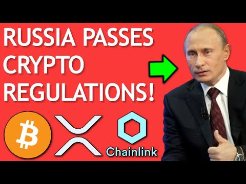 Russia Passes CRYPTO Regulations! - Joe Rogan BITCOIN - Chainlink Colorado Lottery - XRP Whales
