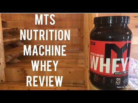 Supplement Review – MTS Machine Whey protein versus Optimum Diet Whey protein