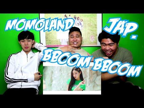 MOMOLAND - BBOOM BBOOM JAPANESE VER. MV REACTION (FUNNY FANBOYS)
