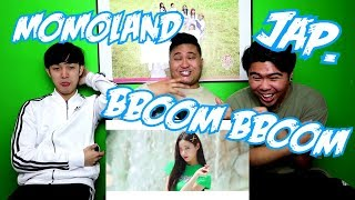 MOMOLAND - BBOOM BBOOM JAPANESE VER. MV REACTION (FUNNY FANBOYS)