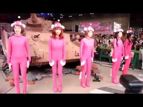 秋葉原「Ⅳ号戦車 日本上陸作戦です!」 より、あんこう踊り