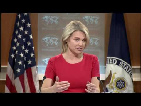 Heather Nauert on Ukraine, Russia, and North Korea, US State Department Press Briefing, Russia