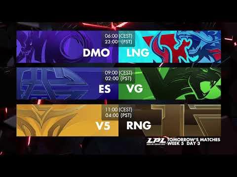 LGD Vs. EDG | OMG Vs. IG  - Week 5 Day 2 | LPL Spring (2020)