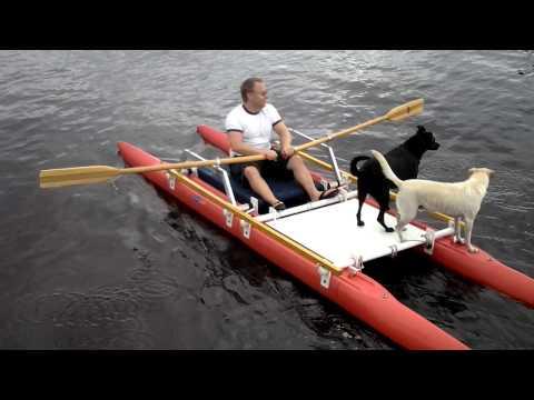 Rodd Och Fiskekatamaran Rowing Catamaran Doovi