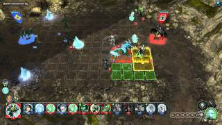 Might & Magic: Heroes VI Battle Gameplay Video (PC)