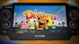 Little Deviants PS Vita Trailer