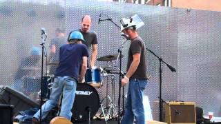 Jefferson County Green Band Live in Des Moines, Iowa, Head Drumming
