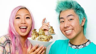 Making 24K Golden Ice Cream From Scratch ft. ZHC
