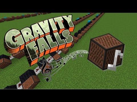 Minecraft: Gravity Falls Theme with Note Blocks