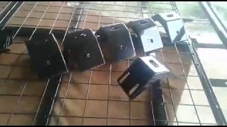 Обновлённые опоры для экспедиционного багажника на Ниву
