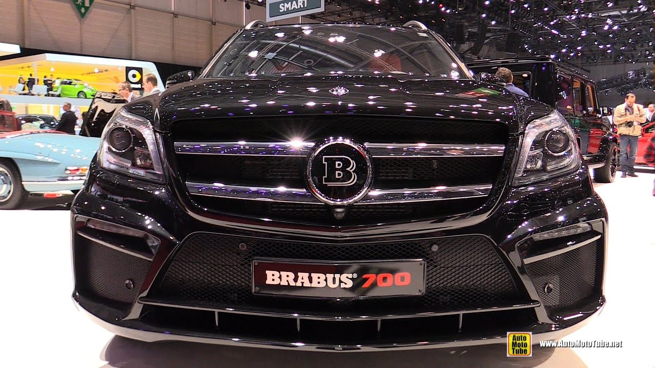 2015 mercedes benz gl63 amg brabus 700 exterior and. Black Bedroom Furniture Sets. Home Design Ideas
