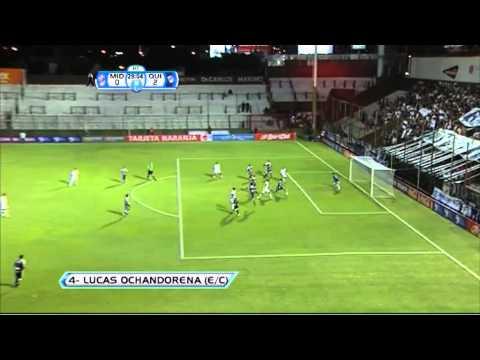 Gol Ochandorena e/c. Quilmes 2 Midland 0. Copa Argentina 2013. 24avos. Fútbol Para Todos.