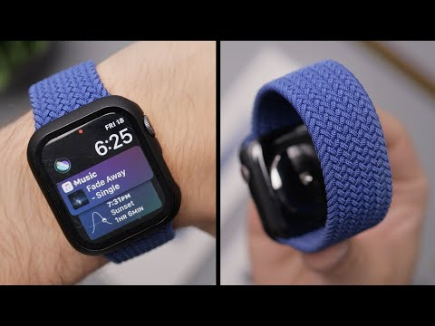 Apple Watch Braided Loop Band Review!