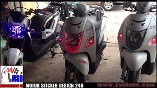Suzuki let's 2015 & zoomer x 2016