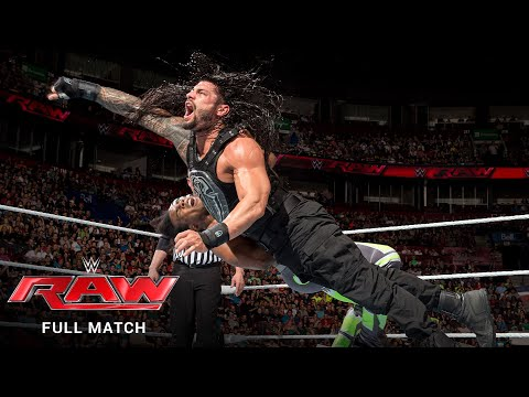 FULL MATCH - The New Day vs. Roman Reigns & Randy Orton – Handicap Match: Raw, May 4, 2015