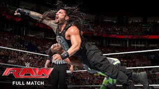FULL MATCH - The New Day vs. Roman Reigns & Randy Orton - Handicap Match: Raw, May 4, 2015